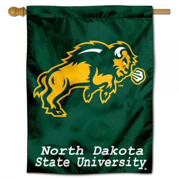 NDSU Bison House Flag