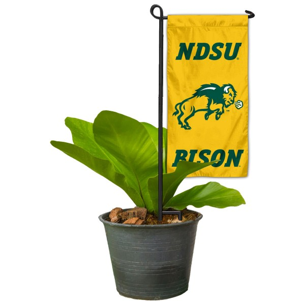 NDSU Bison Mini Garden Flag and Table Topper
