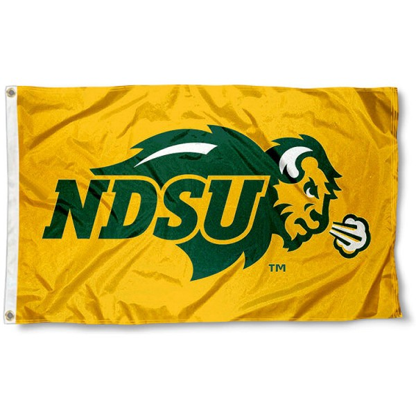 NDSU Yellow Flag