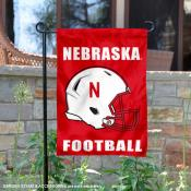 Nebraska Cornhuskers Football Garden Flag