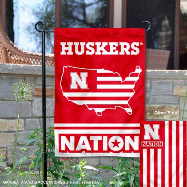 Nebraska Cornhuskers Nation Garden Flag