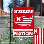 Nebraska Cornhuskers Nation Garden Flag