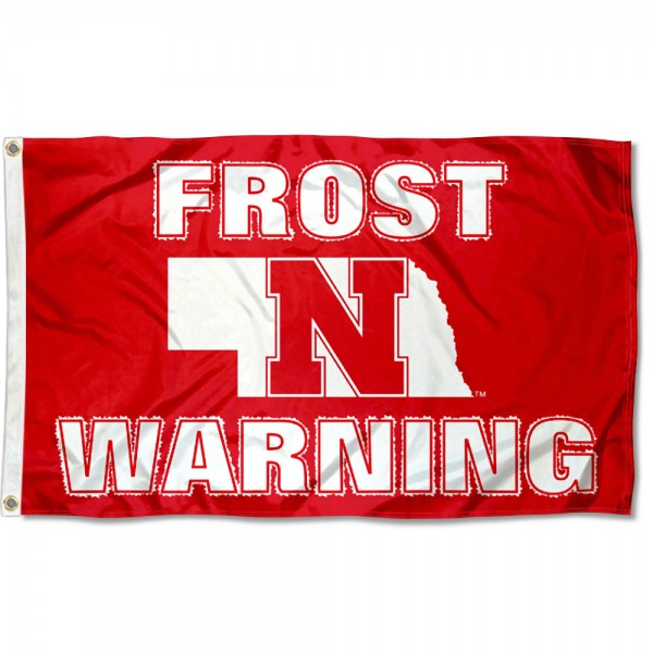 Nebraska Cornhuskers Scott Frost Warning Flag