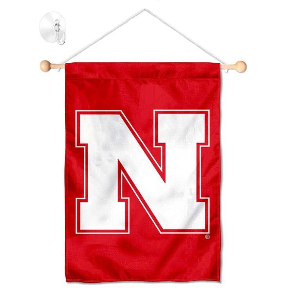 Nebraska Cornhuskers Small Wall and Window Banner
