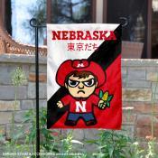 Nebraska Cornhuskers Yuru Chara Tokyo Dachi Garden Flag