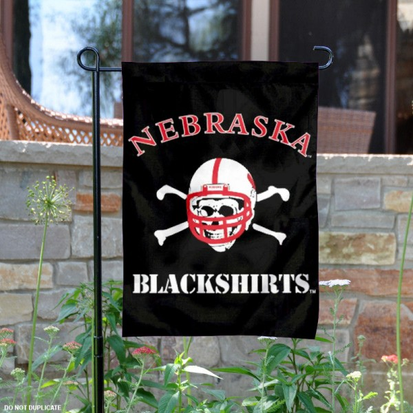 Nebraska Huskers Blackshirts Yard Flag