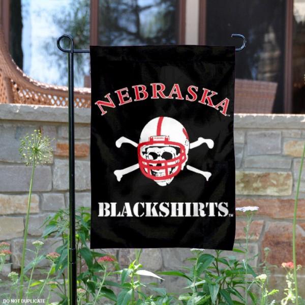 Nebraska Huskers Blackshirts Yard Flag