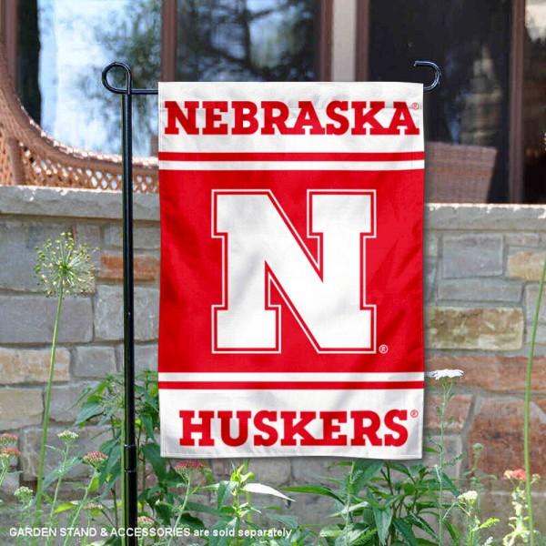 Nebraska Huskers Garden Flag
