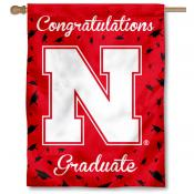 Nebraska Huskers Graduation Banner