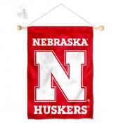 Nebraska Huskers Small Wall and Window Banner
