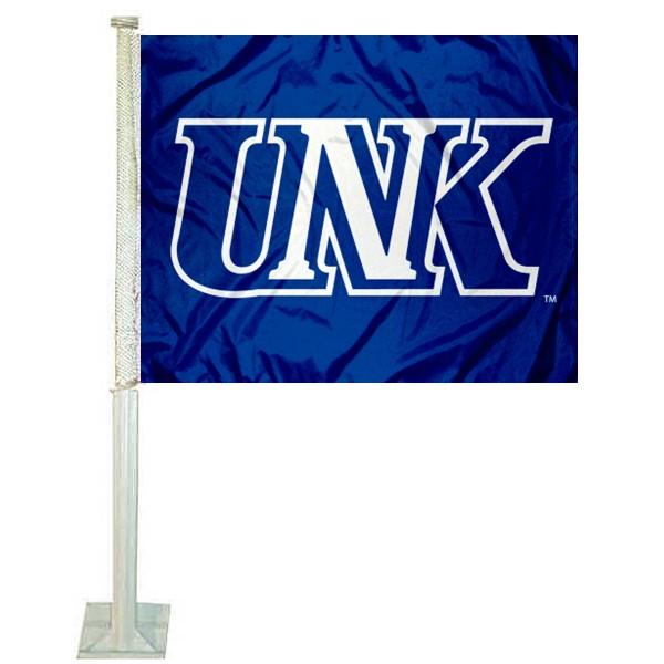 Nebraska Kearney Lopers Car Flag