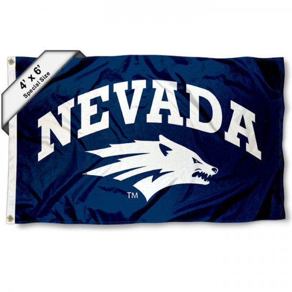 Nevada Wolf Pack 4'x6' Flag