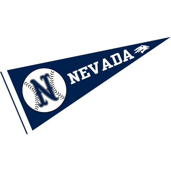 Nevada Wolfpack Baseball Pennant