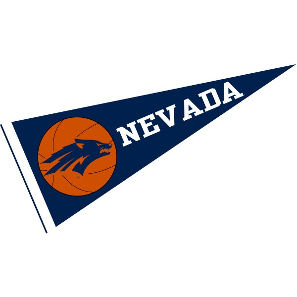 Nevada Wolfpack Basketball Pennant