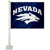Nevada Wolfpack Car Flag