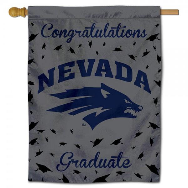 Nevada Wolfpack Graduation Banner