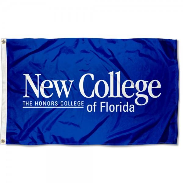 New College of Florida Logo Flag