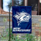 New Hampshire Wildcats Garden Flag