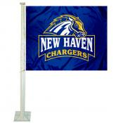 New Haven Chargers Car Flag