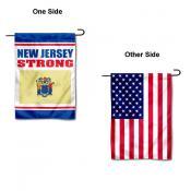 New Jersey Strong Yard Garden Banner