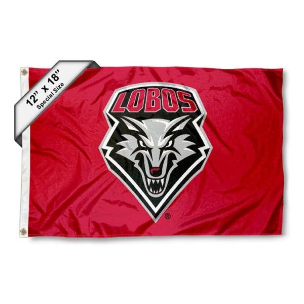 New Mexico Lobos Mini Flag