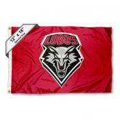 New Mexico Lobos Mini Flag