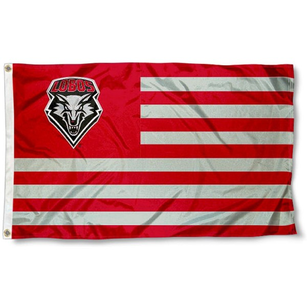 New Mexico Lobos Nation Flag