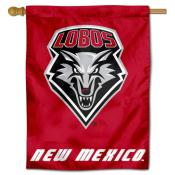 New Mexico Lobos Polyester House Flag