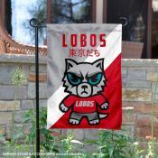 New Mexico Lobos Yuru Chara Tokyo Dachi Garden Flag