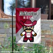 New Mexico State Aggies Yuru Chara Tokyo Dachi Garden Flag