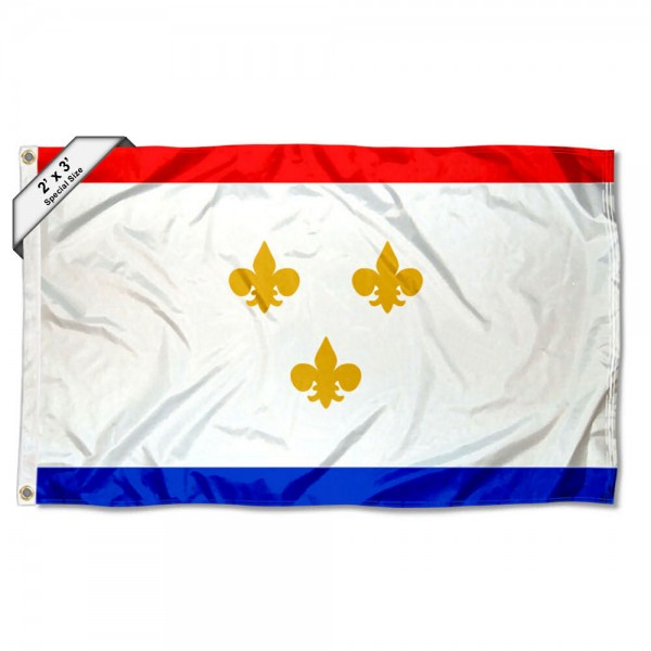 New Orleans City 2x3 Foot Flag