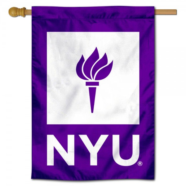 New York University Violets House Flag