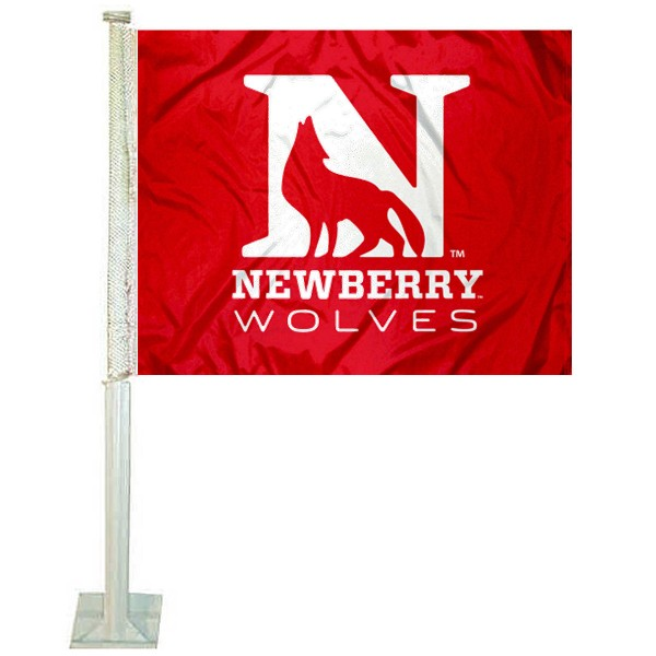 Newberry College Car Flag