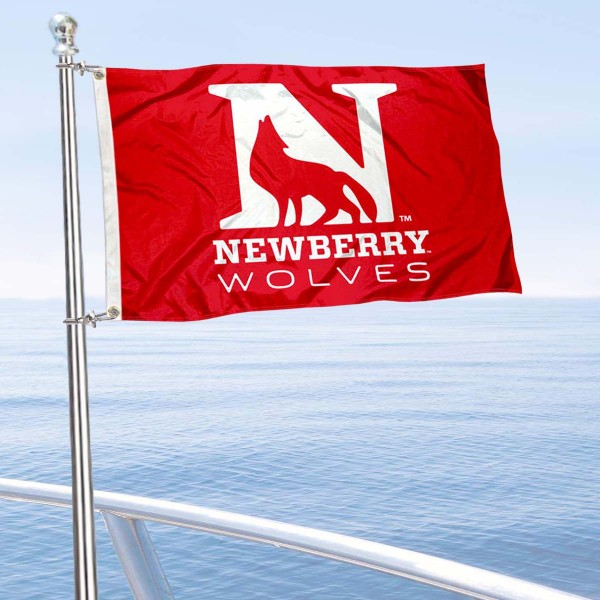 Newberry Wolves Boat Nautical Flag