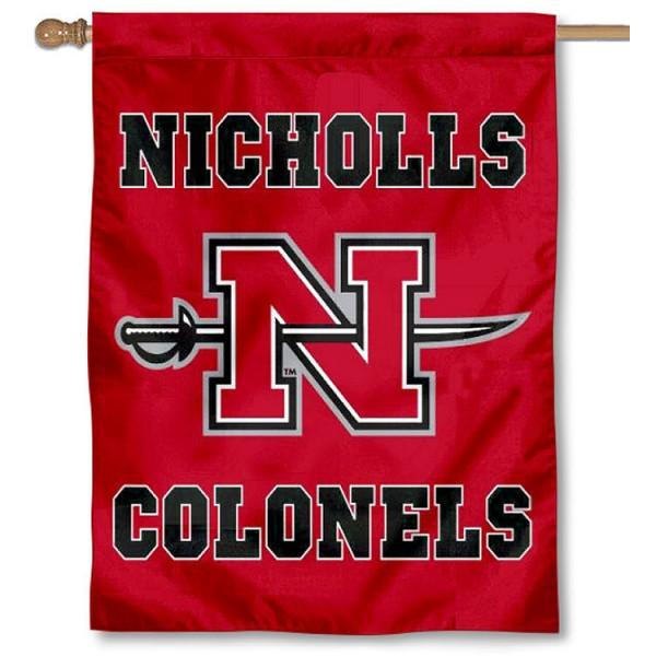 Nicholls Colonels House Flag