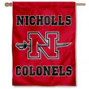 Nicholls Colonels House Flag