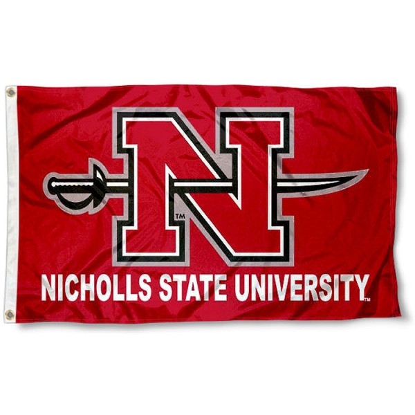 Nicholls State Colonels Flag