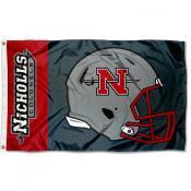 Nicholls State Colonels Helmet Flag
