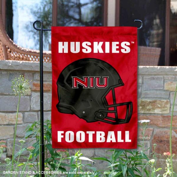 NIU Huskies Football Garden Flag
