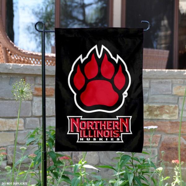 NIU Huskies Garden Flag