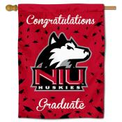 NIU Huskies Graduation Banner