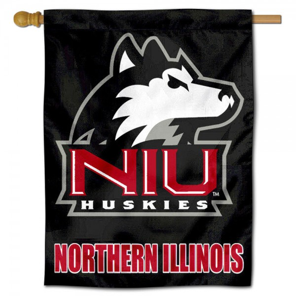 NIU Huskies House Flag