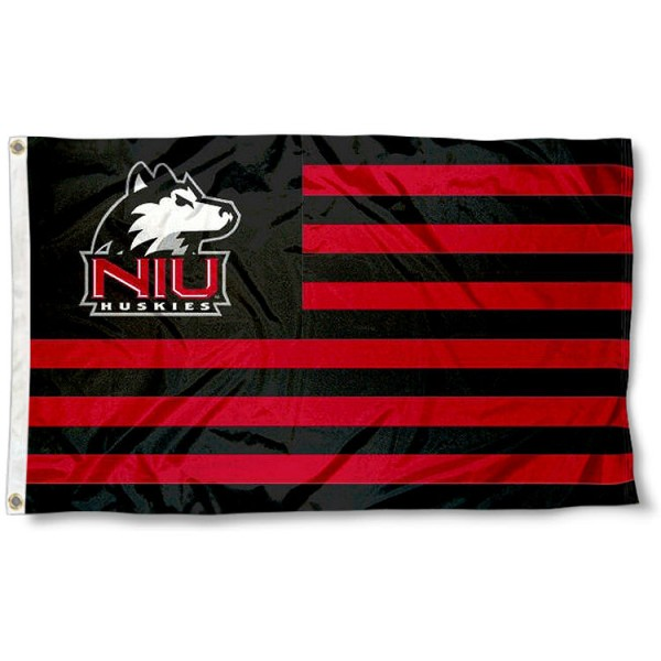 NIU Huskies Nation Flag