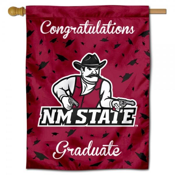 NMSU Aggies Graduation Banner