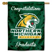 NMU Wildcats Graduation Banner