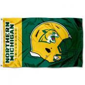 NMU Wildcats Helmet Flag