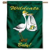 NMU Wildcats New Baby Banner