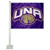 North Alabama Lions Car Flag