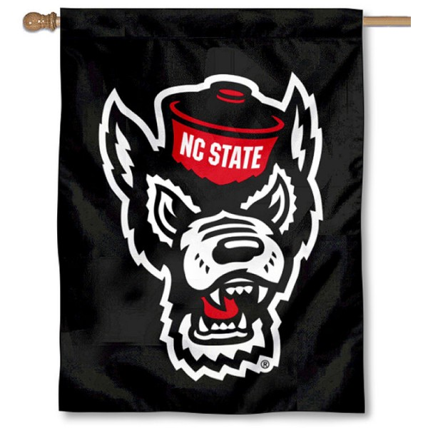 North Carolina State University Logo House Flag