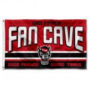 North Carolina State University Wolf Pack Man Cave Dorm Room 3x5 Banner Flag